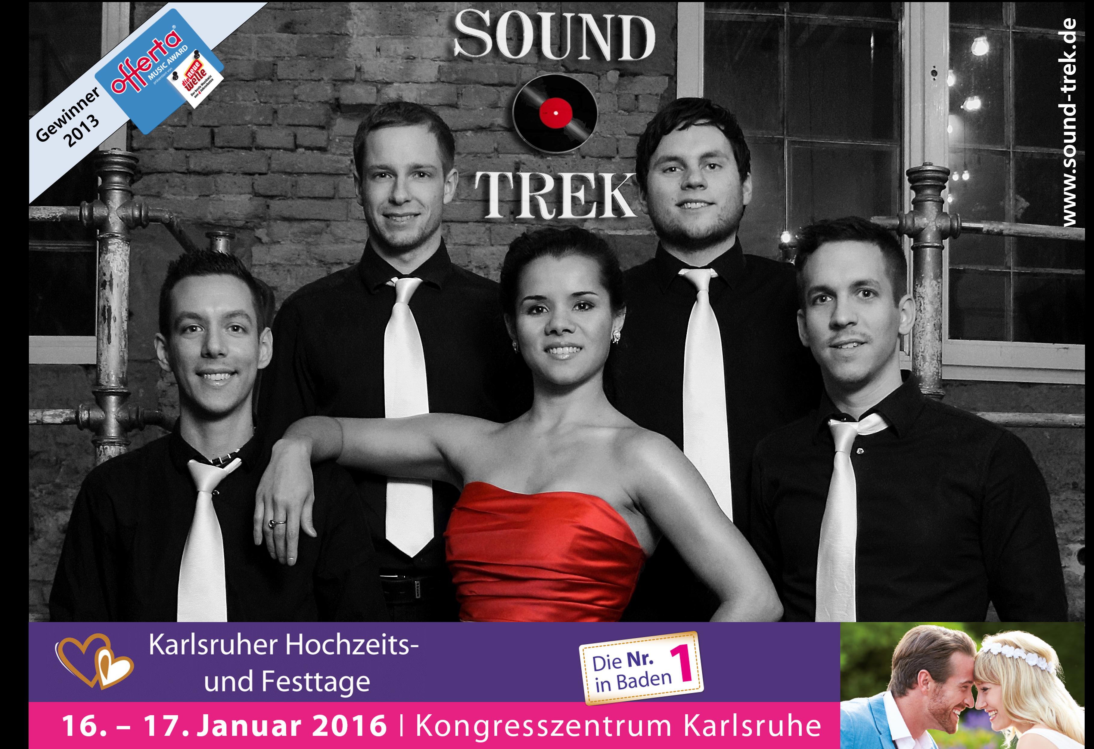 Sound Trek Coverband Hochzeitstage Hochzeitsband