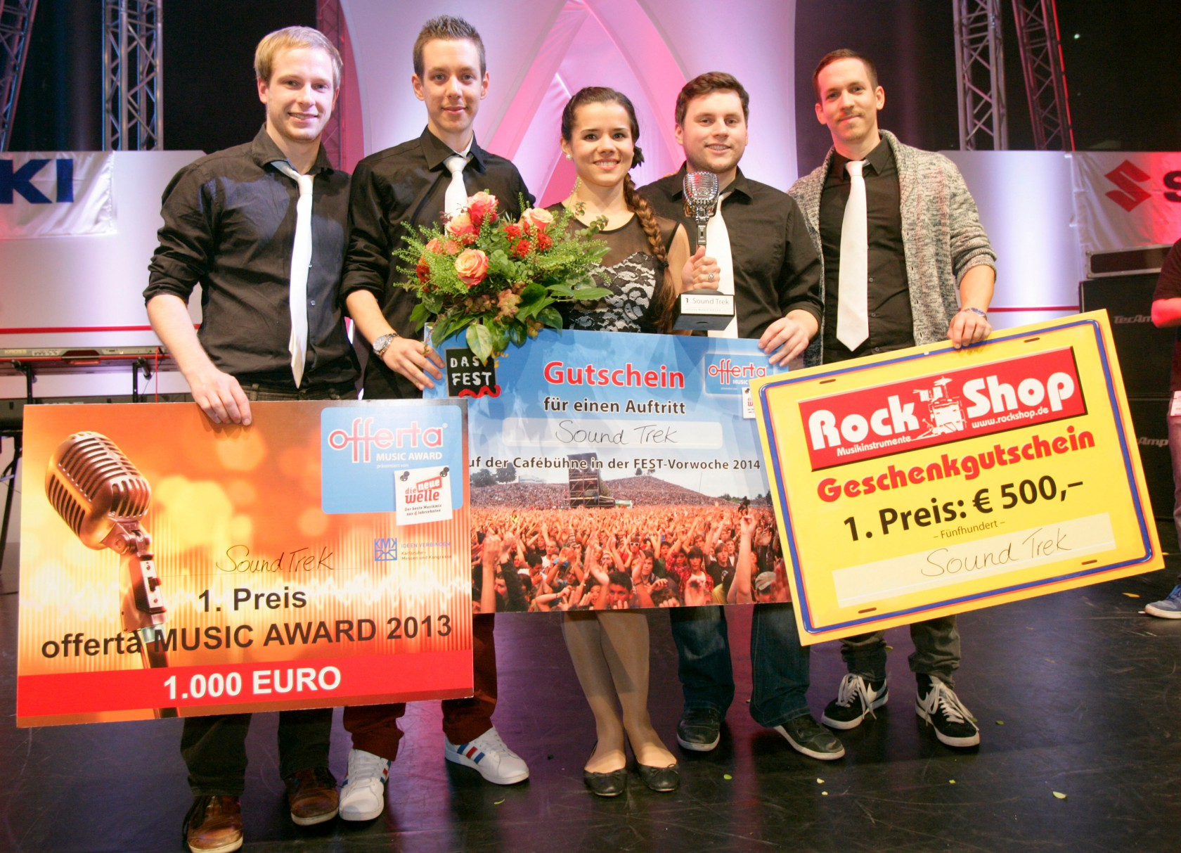 Sound Trek - Gewinner des Offerta Music Award